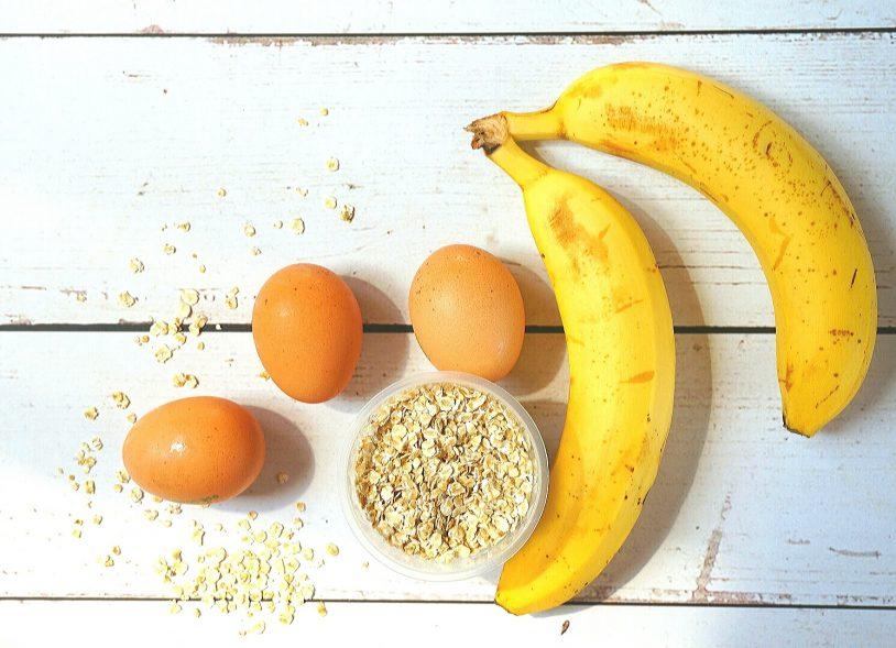 image of healthy 3 ingredient pancakes