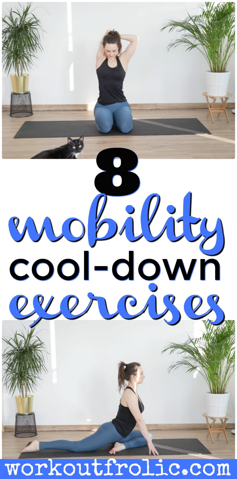 8 cooldown mobility exercises