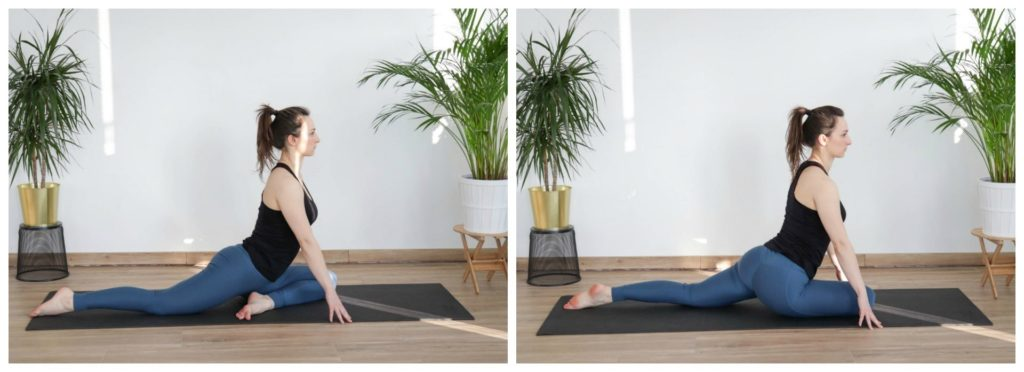 mobility exercise pigeon pose from article 8 must-do cooldown mobility exercises