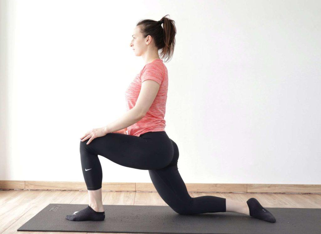 deep hip flexor psoas stretch.